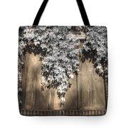 Infrared Botanical Sepia  Tote Bag