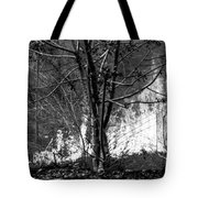 Infrared Flames In Costa Rica Tote Bag