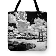 Infrared Indian River State College Hendry Campus #11 Tote Bag