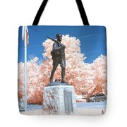 Infrared Memorial Tote Bag