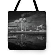 Infrared Palms Tote Bag