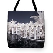 Infrared Pool Tote Bag