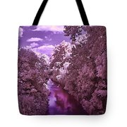 Infrared River Tote Bag