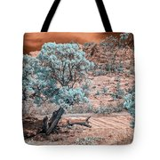 Infrared Zion Tote Bag