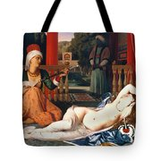 Ingres: Odalisque Tote Bag