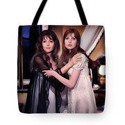 Ingrid Pitt And Madeline Smith Tote Bag