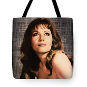 Ingrid Pitt, Vintage Actress Tote Bag