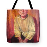Inhabitant Of Chernobyl Zone Tote Bag