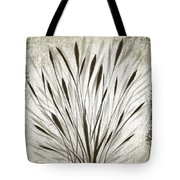 Ink Grass Tote Bag