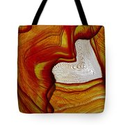 Ink Heart Tote Bag