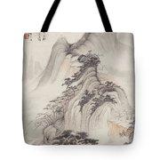 Ink Painting Landscape Tote Bag