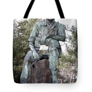 Inland Northwest Veterans Memorial Statue Tote Bag