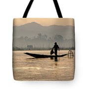 Inle Lake Fisherman Tote Bag