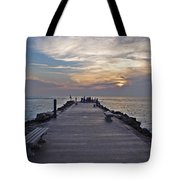 Inlet Fort Pierce Tote Bag