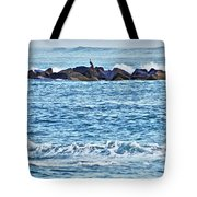 Inlet Waves Tote Bag