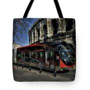 Inner City Tram Tote Bag