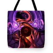 Inner Feelings Abstract Tote Bag
