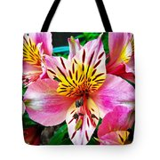 Inner Flower Of A Goddess Tote Bag