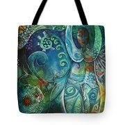 Inner Goddess By Reina Cottier Tote Bag