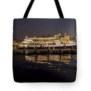 Inner Harbor Tour Boat Tote Bag