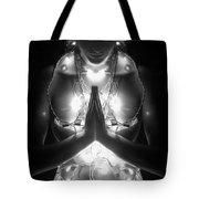 Inner Illumination - Self Portrait Tote Bag