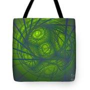 Inner Light Spiral Sanctum Tote Bag