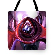 Inner Peace Abstract Tote Bag