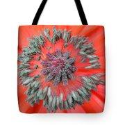 Inner Poppy Tote Bag