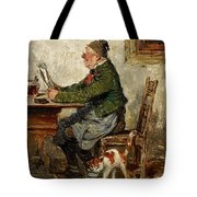 Innkeeper With A Cat Tote Bag