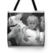 Innocence And Love Tote Bag