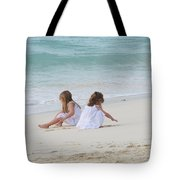 Innocence By The Sea Tote Bag