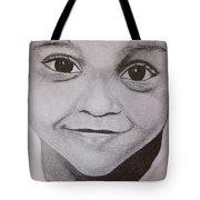 Innocent Smile Tote Bag
