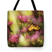 Insect - Butterfly - Golden Age  Tote Bag