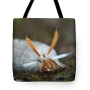 Insect Larvae With Hairdo Tote Bag