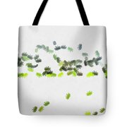 Insects Marching All Over Tote Bag