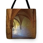 Inside A Monastery Dordogne France  Tote Bag