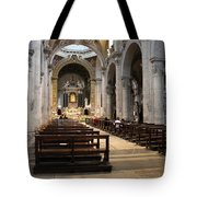 Inside Beautiful Church In Rome Tote Bag