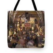 Inside Istanbuls Grand Bazaar Tote Bag