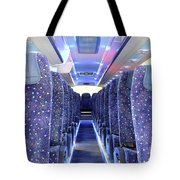 Inside Of New Bus  Tote Bag