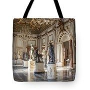 Inside One Of The Rooms Of The Capitoline Museums In Rome, Italy  Tote Bag