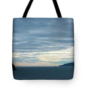 Inside Passage Sunset Tote Bag