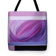 Inside Purple Tote Bag