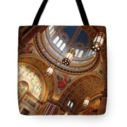 Inside Saint Matthew's Cathedral -- At An Angle Tote Bag