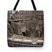 Inside The Coliseum Tote Bag