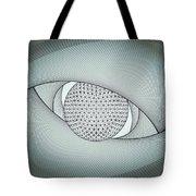 Inside The Eye Tote Bag