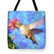Inside The Flower - Impressionism Finish Tote Bag