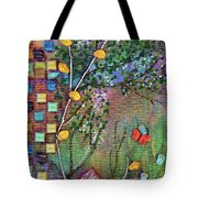 Inside The Garden Wall Tote Bag