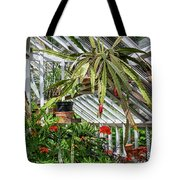 Inside The Greenhouse Tote Bag