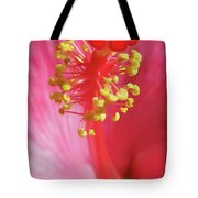 Inside The Hibiscus Tote Bag