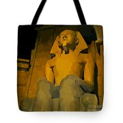 Inside The Luxor Hotel Tote Bag